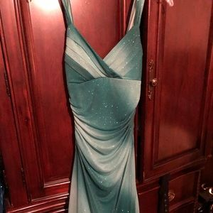 Beautiful Sparkle Asymmetric Prom/Club Dress
